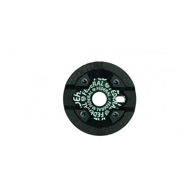 Звезда Federal Logo Solid ( c защитой Impact) - черная 28 зубьев