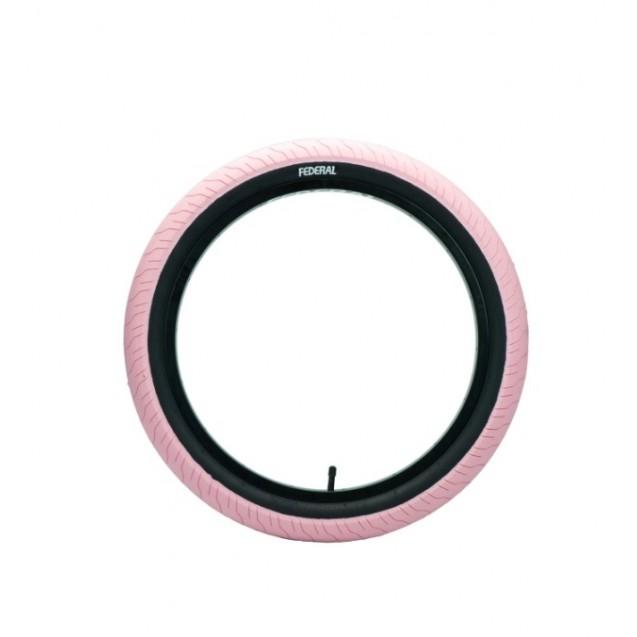 Покрышка Federal Command LP - розовая с черными боками 2.40