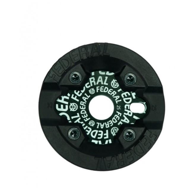 Звезда Federal Logo Solid ( c защитой Impact) - черная 25 зубьев