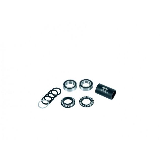 Каретка Federal Mid V2 - черная 22 mm