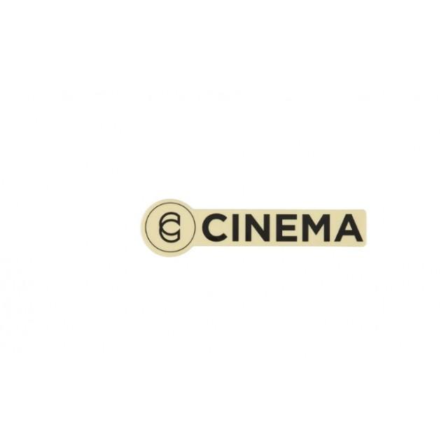 Наклейка Cinema черная