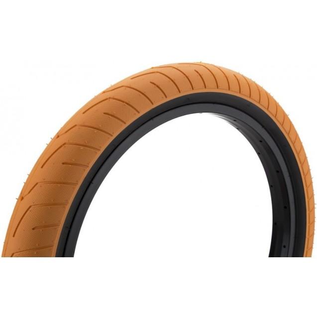 "Покрышка KINK BMX Sever 20""х2.4"" оранжевая/черные бока"