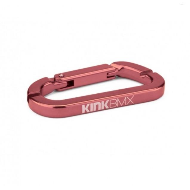 Карабин KINK спицной ключ бордовый