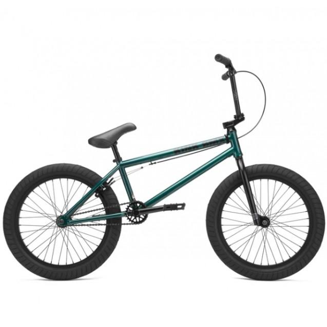 Велосипед KINK BMX Gap XL 2021 прозрачно-зеленый