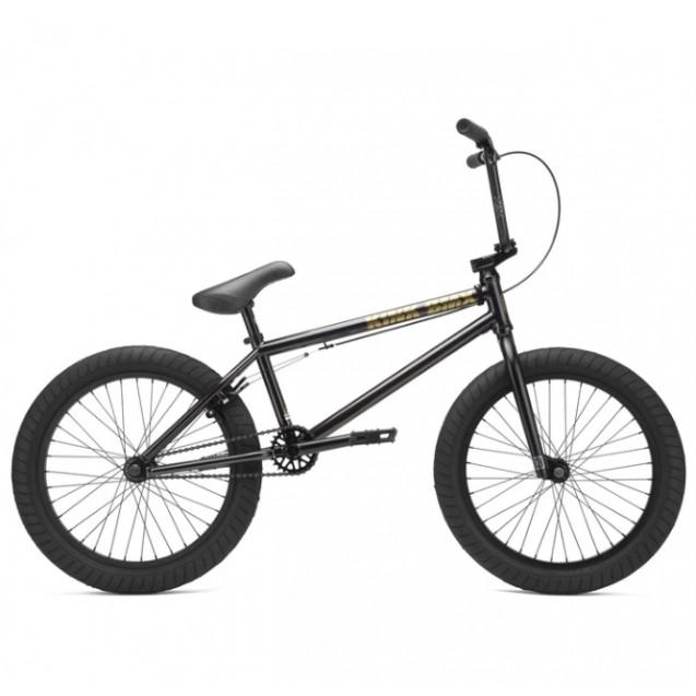 Велосипед KINK BMX Gap 2021 черно-прозрачный