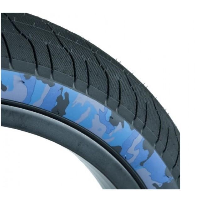Покрышка Federal Command LP - черная с голубым камуфляжем по бокам 2.40